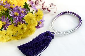 大阪府花束と数珠