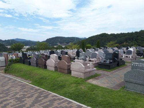 池田市、墓地