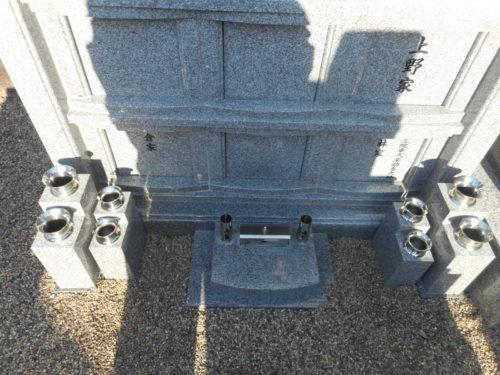 納骨堂墓地の花立を増設