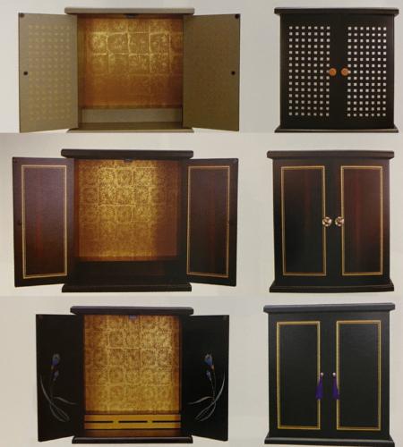 手元供養仏壇セットボックス型